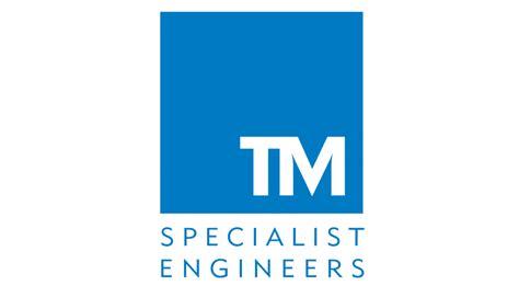logo design for tm specialist engineers west midlands