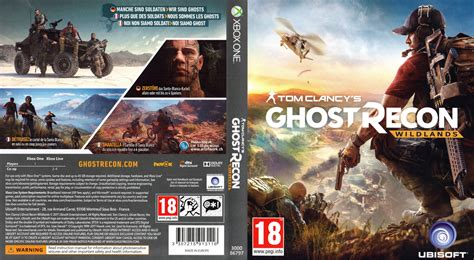 one covers tom clancys ghost recon wildlands xbox one cover