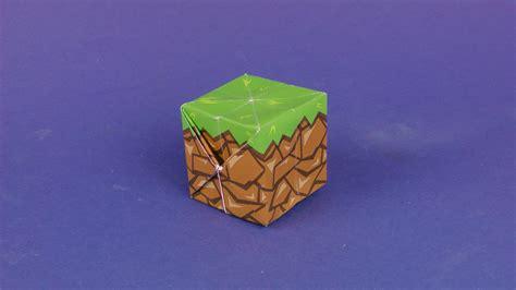 www origami minecraft block origami tavin s origami