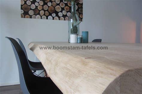 Eiken Tafelblad 180 X 100 eiken tafelblad 180x100 boomstamrand boomstam tafels