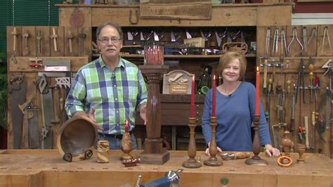 pbs woodworking show mega turnings american woodshop