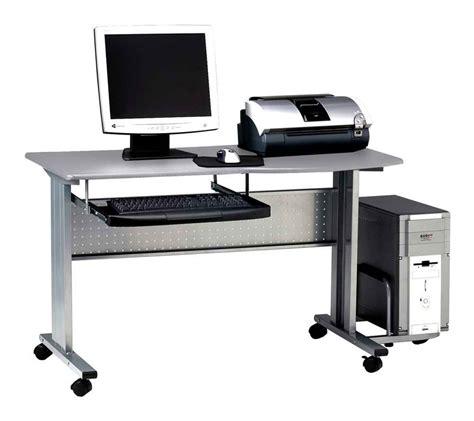 computer mobile desk industrial computer desk furniture workstations