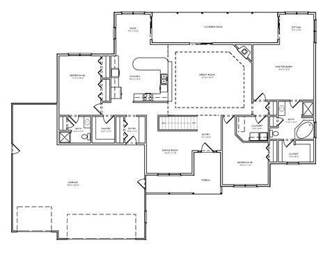 ranch home plans with basements ranch house plans with 3 car garage ranch house plans with