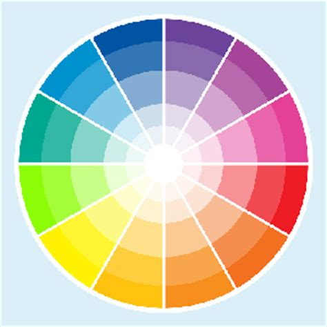 complementary color to pink color wheel