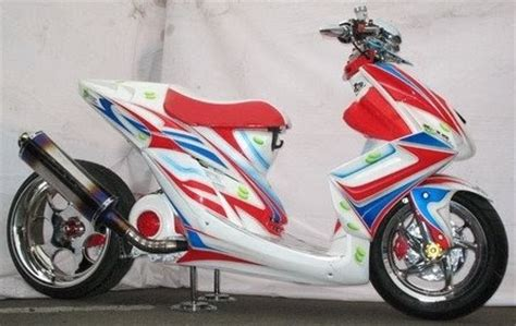 Modifikasi Mio Soul Warna Silver by Yamaha Mio Soul Modification Harga Motor Gambar