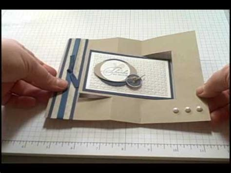 how to make flip card swing card tutorial