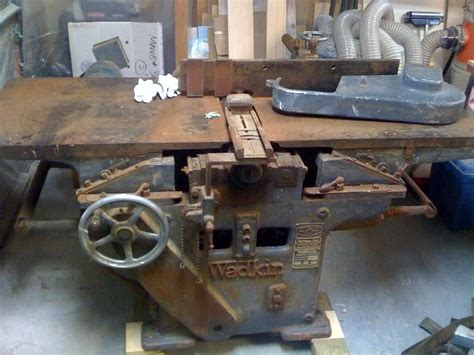 vintage woodworking machinery for sale wadkin rm 26 quot uo rebuild restoration general