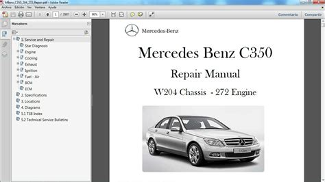 car owners manuals free downloads 2007 mercedes benz m class seat position control mercedes benz c350 w204 manual de taller workshop re