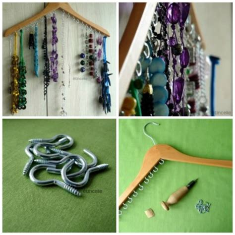 How To Make Cool Jewelry Hanger Step By Step Diy Tutorial