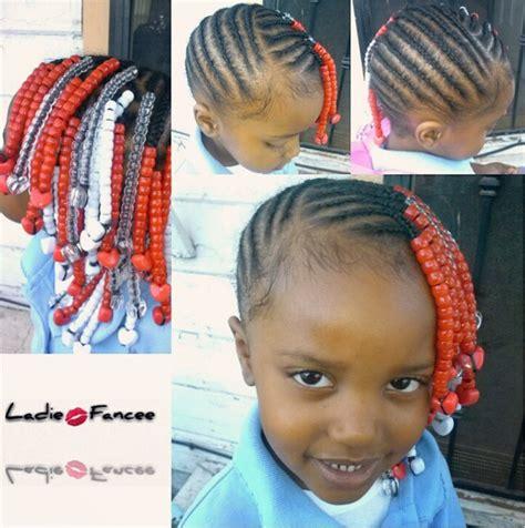 bead hair styles kiddie hairstyle braids with kid hairstyles