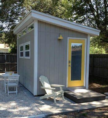 cobertizo oficina modern shed prefabricados pinterest bodegas