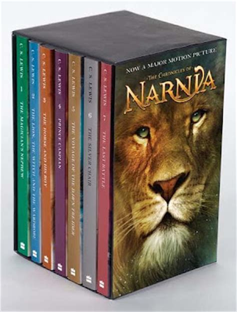 narnia picture books book reviews quot the chronicles of narnia quot by c s lewis