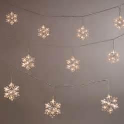 outdoor snowflake string lights snowflake led string lights world market