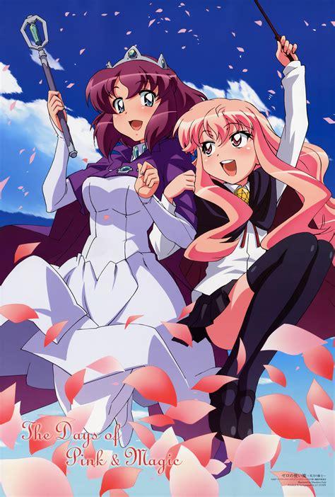 zero no tsukaima zero no tsukaima the days of pink and magic minitokyo