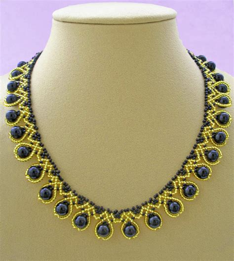free beaded jewelry patterns free pattern for beaded necklace ra magic