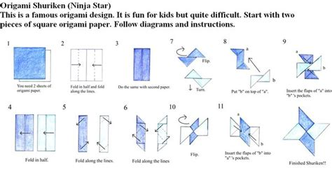 how to make a origami shuriken origami just made for you