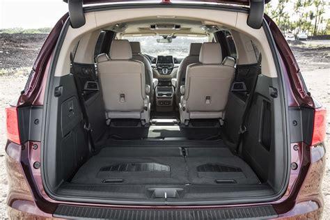 Minivan Cargo Space by 2018 Honda Odyssey Rear Cargo Space Motor Trend En Espa 241 Ol