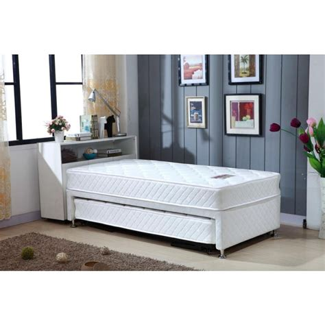 bed frames with mattress single white bed frame with trundle 2 mattresses buy