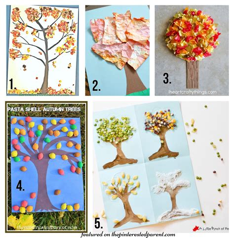 20 Fall Tree Arts Crafts Ideas For The