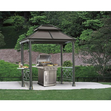 outdoor patio grill gazebo grill gazebo at costco 899 outdoor living