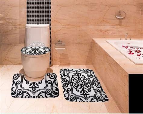and black bathroom rugs black and white bathroom rugs www imgkid the image