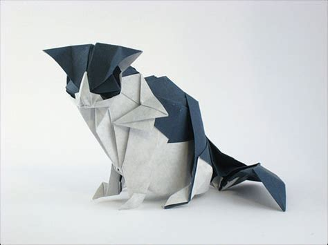 origami black cat origami cats