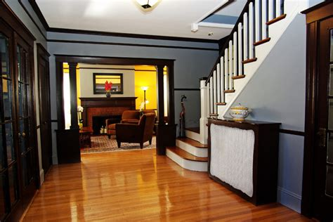 arts and crafts homes interiors arts and crafts home traditional entry boston by m charles interiors