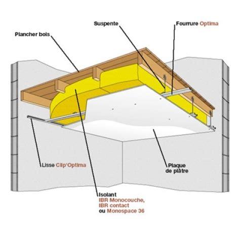 plafond isolation acoustique isolation mesure au plafond with plafond isolation