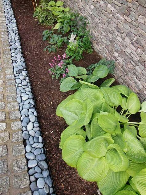 rocks for garden edging the river rock garden edging ideas interior