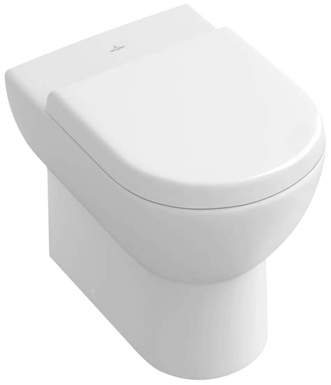 villeroy boch subway floor standing toilet with inwall tank