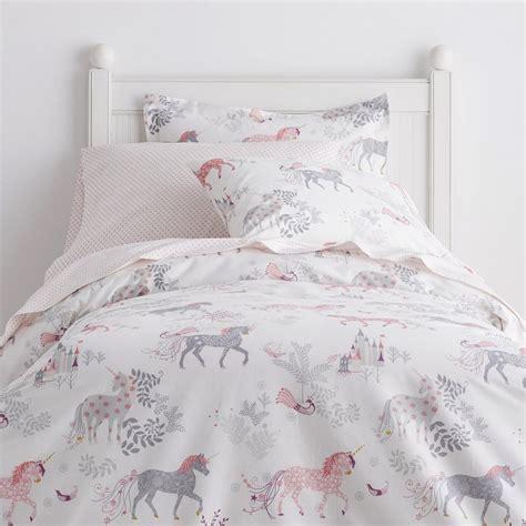unicorn bedding enchanted unicorn percale sheets bedding set the