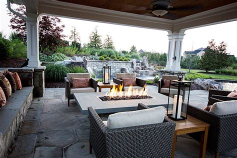 Covered Porch Design photo gallery of outdoor kitchens fireplaces amp fire pits