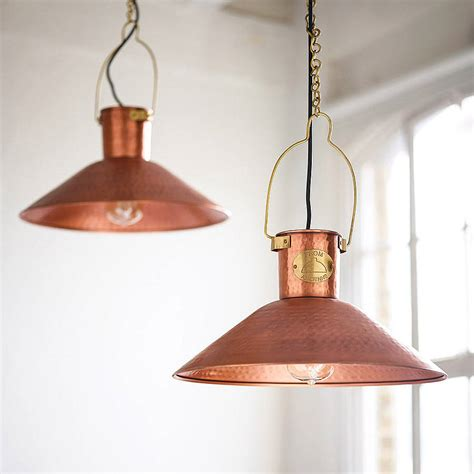 copper kitchen light fixtures copper pendant light by country lighting