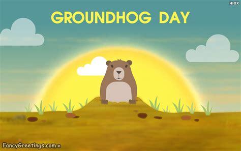 groundhog day en francais happy groundhog day ecard greeting card fancygreetings