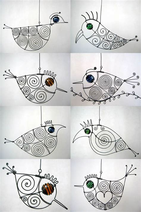 craft wire projects wire birdies 3d project mobiles tools