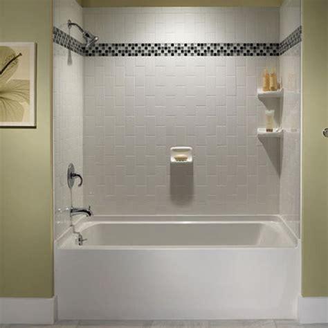 bathroom tub tile ideas 29 white subway tile tub surround ideas and pictures