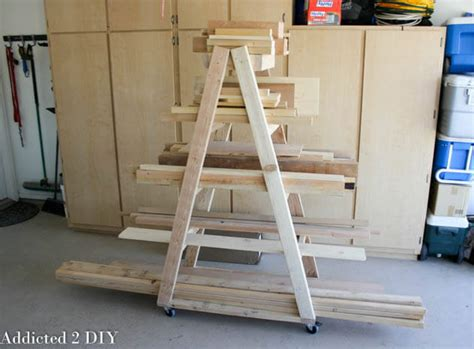 woodworking cl rack plans easy portable lumber rack free diy plans rogue engineer