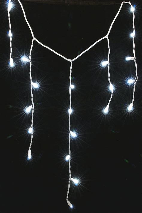 and white icicle lights white icicle lights on winlights deluxe interior