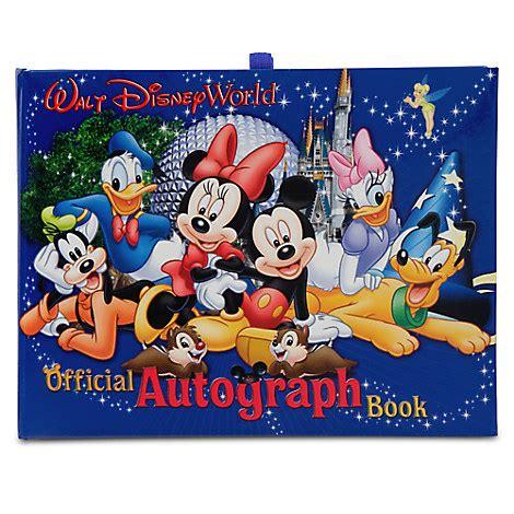 disney picture book official walt disney world resort autograph book disney