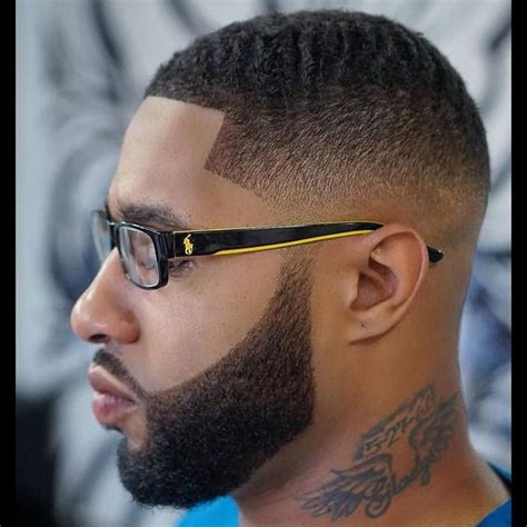 light fader light fade and haircut with beard hairs picture