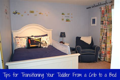 boys size bed transitioning todder to size bed from crib