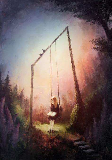 paint deviantart on the swing painting by bakenius on deviantart