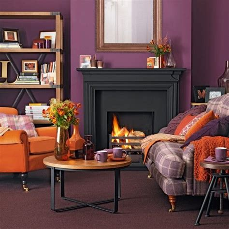 orange and purple decorating ideas best 25 orange living rooms ideas on orange
