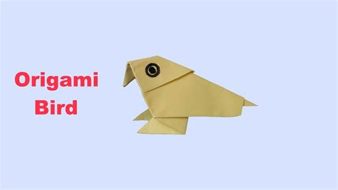origami bird easy origami bird easy origami my crafts and diy