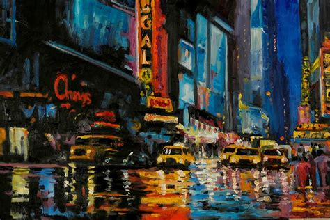 paint nite manhattan manhattan overwhelms the at the fisher gallery