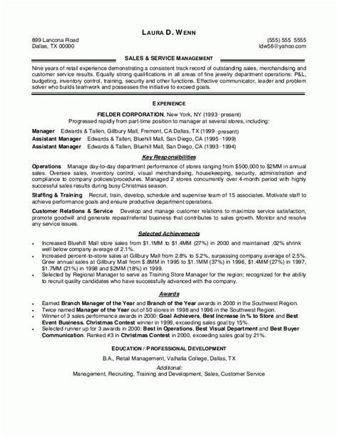sales leader resume sample resumes design