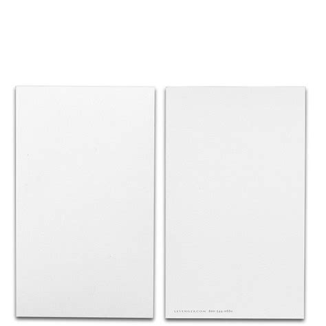 Special Request Blank Cards Set Of 100 3 X 5 Note