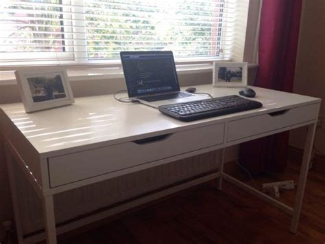 alex desk ikea ikea alex desk white as new for sale in mulhuddart dublin