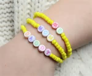 letter bead bracelets how to diy a letter bracelet fashionornaments