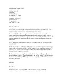 credit dispute letter best business template